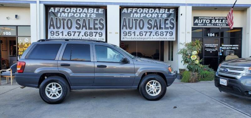 2003 Jeep Grand Cherokee for sale at Affordable Imports Auto Sales in Murrieta CA