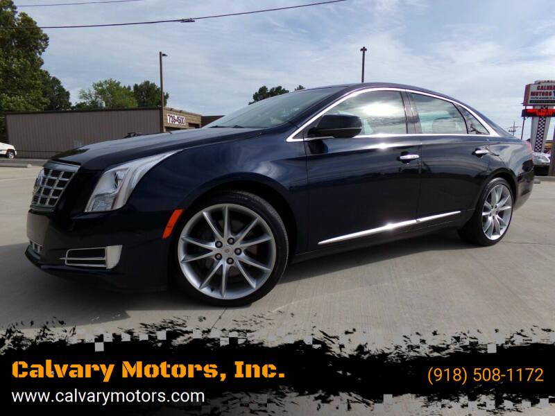 2015 Cadillac XTS for sale at Calvary Motors, Inc. in Bixby OK