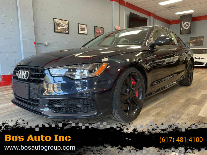 2015 Audi S6 for sale at Bos Auto Inc in Quincy MA