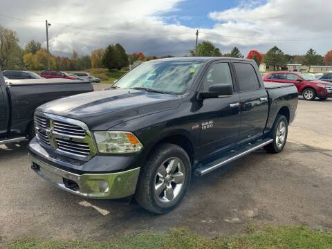 2018 RAM Ram Pickup 1500 for sale at Paris Auto Sales & Service in Big Rapids MI