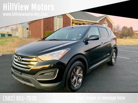 2016 Hyundai Santa Fe Sport for sale at HillView Motors in Shepherdsville KY