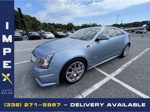 2013 Cadillac CTS-V for sale at Impex Auto Sales in Greensboro NC