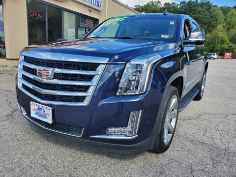 2018 Cadillac Escalade for sale at Auto Wholesalers Of Hooksett in Hooksett NH