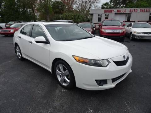 2009 Acura TSX for sale at DONNY MILLS AUTO SALES in Largo FL