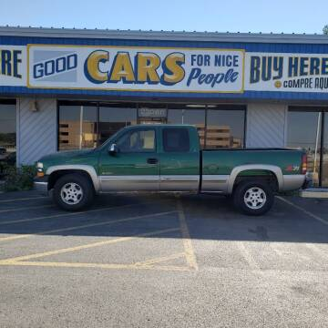 2000 Chevrolet Silverado 1500 for sale at Good Cars 4 Nice People in Omaha NE