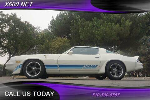 1981 Chevrolet Camaro for sale at The Dealer in Fremont CA