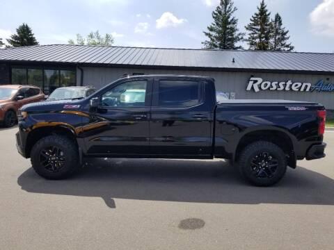 2020 Chevrolet Silverado 1500 for sale at ROSSTEN AUTO SALES in Grand Forks ND