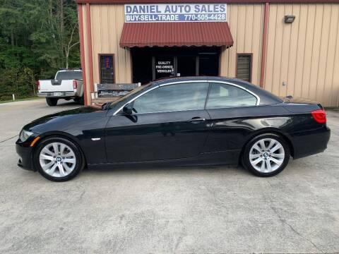 2012 BMW 3 Series for sale at Daniel Used Auto Sales in Dallas GA