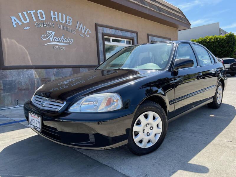 2000 Honda Civic for sale at Auto Hub, Inc. in Anaheim CA