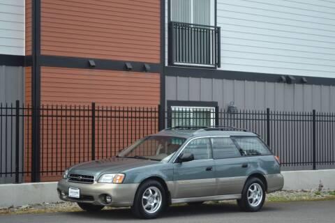 2001 Subaru Outback for sale at Skyline Motors Auto Sales in Tacoma WA