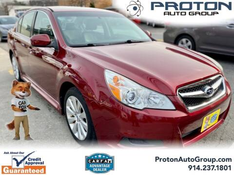 2011 Subaru Legacy for sale at Proton Auto Group in Yonkers NY