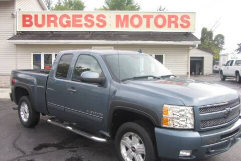2011 Chevrolet Silverado 1500 for sale at Burgess Motors Inc in Michigan City IN
