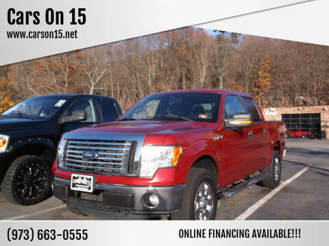 2011 Ford F-150 for sale at Cars On 15 in Lake Hopatcong NJ