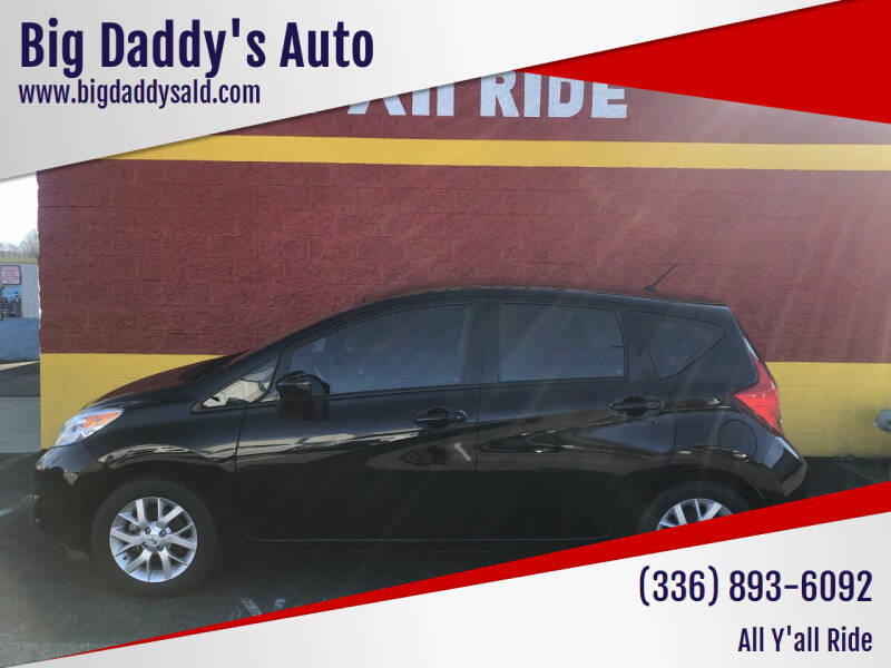 2015 Nissan Versa Note for sale at Big Daddy's Auto in Winston-Salem NC