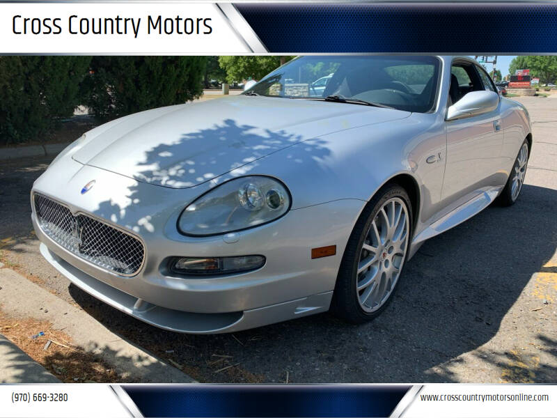 2005 Maserati GranSport for sale at Cross Country Motors in Loveland CO