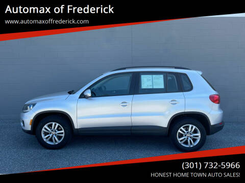 2016 Volkswagen Tiguan for sale at Automax of Frederick in Frederick MD