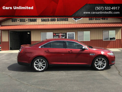 2013 Ford Taurus for sale at Cars Unlimited in Marshall MN