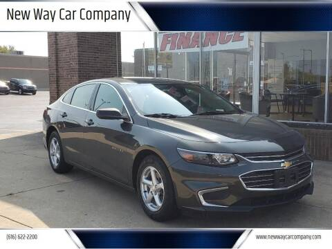 2018 Chevrolet Malibu for sale at New Way Car Company in Grand Rapids MI