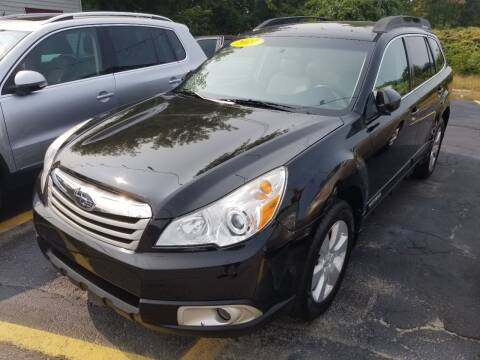 2011 Subaru Outback for sale at Howe's Auto Sales in Lowell MA