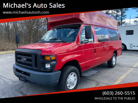 2012 Ford E-Series Cargo for sale at Michael's Auto Sales in Derry NH
