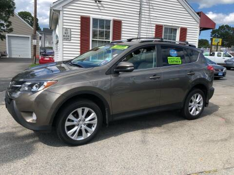 2013 Toyota RAV4 for sale at Crown Auto Sales in Abington MA