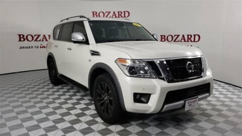 2017 Nissan Armada for sale at BOZARD FORD in Saint Augustine FL