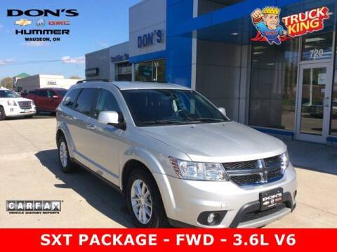 2013 Dodge Journey for sale at DON'S CHEVY, BUICK-GMC & CADILLAC in Wauseon OH