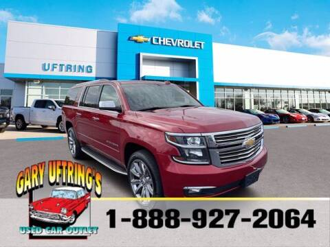 2015 Chevrolet Suburban for sale at Gary Uftring's Used Car Outlet in Washington IL