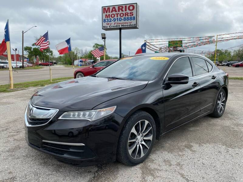 2015 Acura TLX for sale at Mario Motors in South Houston TX