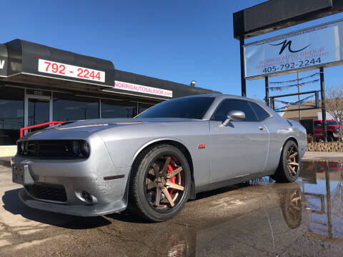 2015 Dodge Challenger for sale at NORRIS AUTO SALES in Oklahoma City OK