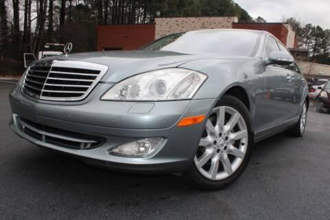 2007 Mercedes-Benz S-Class for sale at Atlanta Unique Auto Sales in Norcross GA