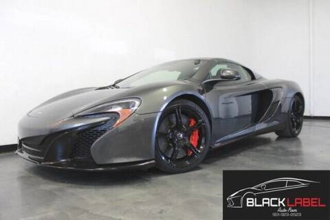 2015 McLaren 650S Spider for sale at BLACK LABEL AUTO FIRM in Riverside CA