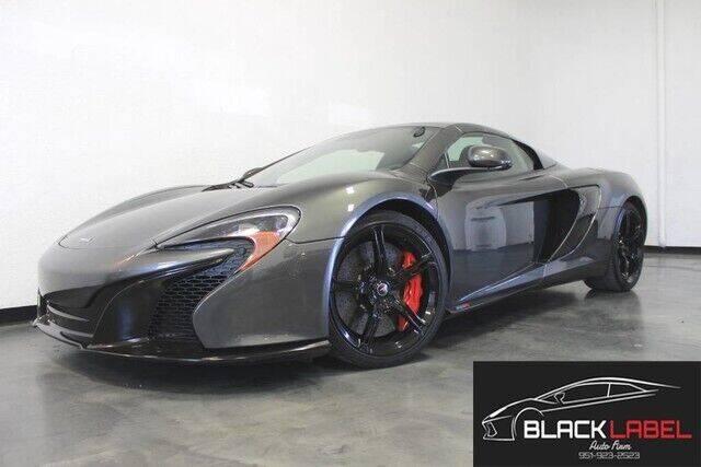 2015 McLaren 650S Spider for sale at BLACK LABEL AUTO FIRM in Riverside CA