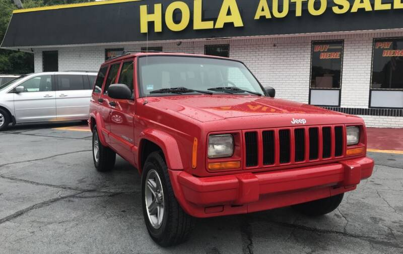 2000 Jeep Cherokee for sale at HOLA AUTO SALES CHAMBLEE- BUY HERE PAY HERE - in Atlanta GA