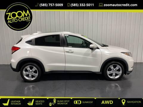 2016 Honda HR-V for sale at ZoomAutoCredit.com in Elba NY