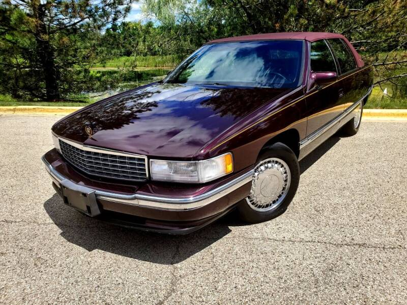 1996 Cadillac DeVille for sale at Excalibur Auto Sales in Palatine IL