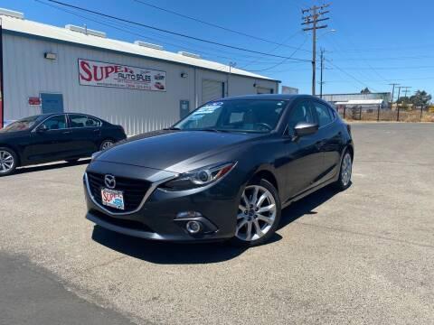 2014 Mazda MAZDA3 for sale at SUPER AUTO SALES STOCKTON in Stockton CA