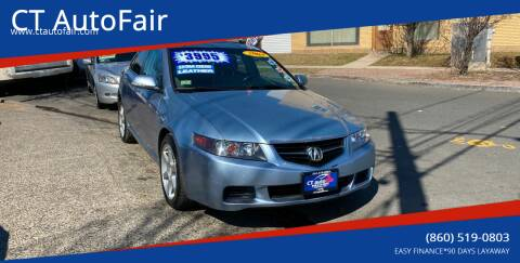 2004 Acura TSX for sale at CT AutoFair in West Hartford CT