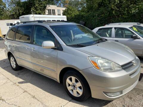 2004 Toyota Sienna for sale at Quality Motors of Germantown in Philadelphia PA