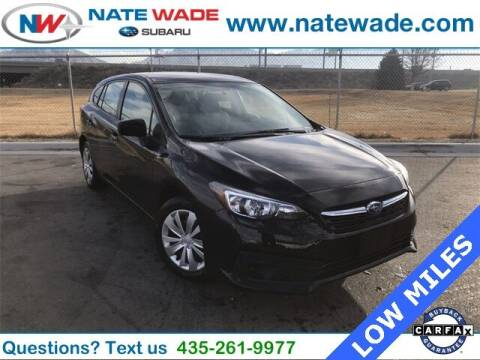 2020 Subaru Impreza for sale at NATE WADE SUBARU in Salt Lake City UT