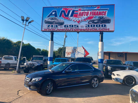 2015 Mercedes-Benz C-Class for sale at ANF AUTO FINANCE in Houston TX