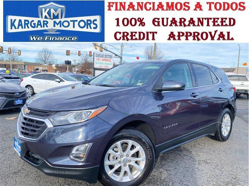 2018 Chevrolet Equinox for sale at Kargar Motors of Manassas in Manassas VA