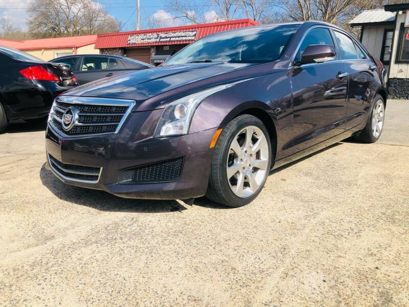 2014 Cadillac ATS for sale at DUNCAN AUTO SALES, INC in Cartersville GA