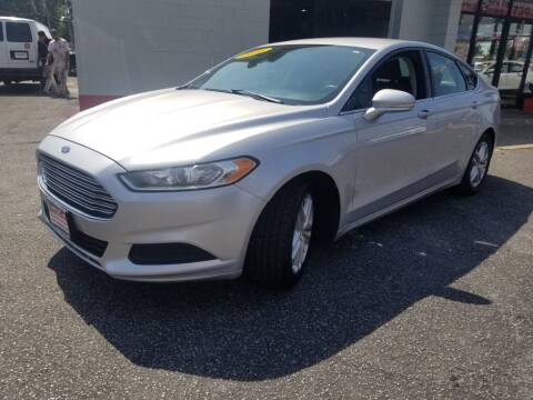 2016 Ford Fusion for sale at Absolute Motors in Hammond IN