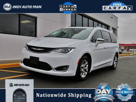 2017 Chrysler Pacifica for sale at INDY AUTO MAN in Indianapolis IN