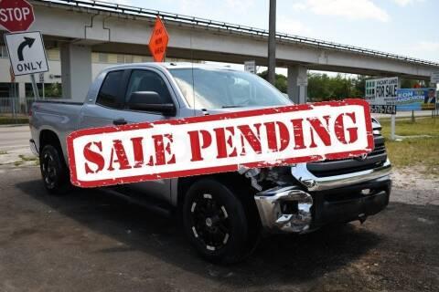2016 Toyota Tundra for sale at STS Automotive - Miami, FL in Miami FL