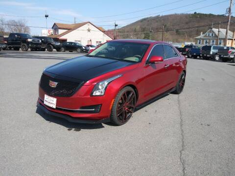 2015 Cadillac ATS for sale at Mulligan's Auto Exchange LLC in Paxinos PA