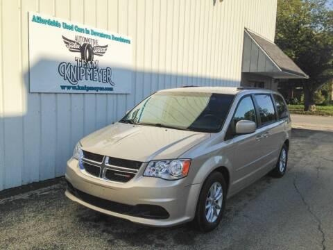 2013 Dodge Grand Caravan for sale at Team Knipmeyer in Beardstown IL