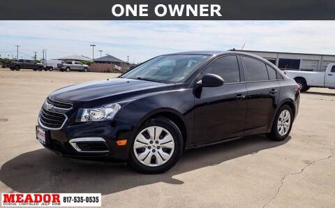 2016 Chevrolet Cruze Limited for sale at Meador Dodge Chrysler Jeep RAM in Fort Worth TX