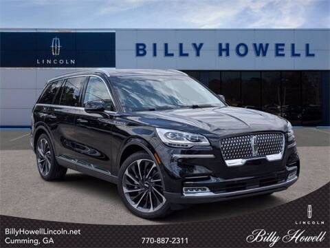 2020 Lincoln Aviator for sale at BILLY HOWELL FORD LINCOLN in Cumming GA